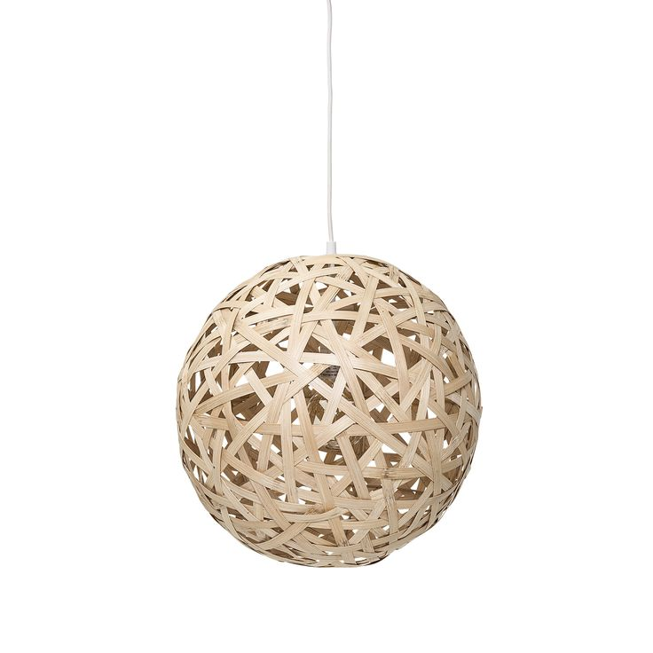 Pendant lamp in Bamboo <3 Design by Bloomingville