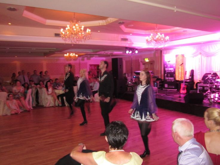 The dance floor in full swing