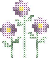 Gráficos-de-ponto-cruz-de-flores4                                                                                                                                                      Mais