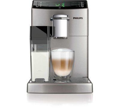 Ekspres automatyczny o mocy 1850 W, młynek ceramiczny, regulowane ustawienia mielenia, zintegrowany pojemnik na mleko, technologia CoffeeSwitch. - sprawdź na MediaMarkt.pl