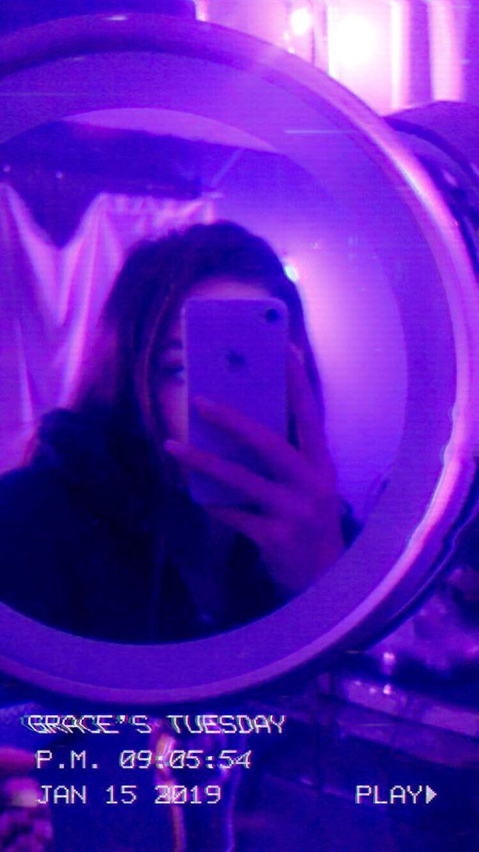 Pin by Princess Bell ʚ♡ɞ on Purple shine Violet aesthetic Dark purple aesthetic Mirror