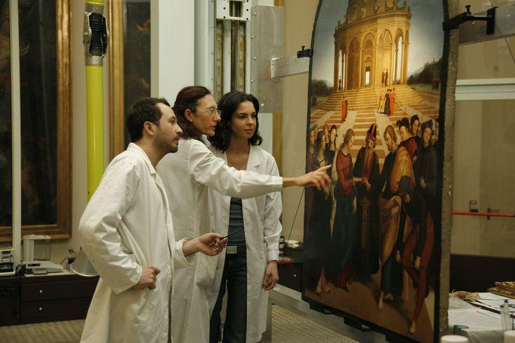 Analisi del dipinto. #restauro #arte