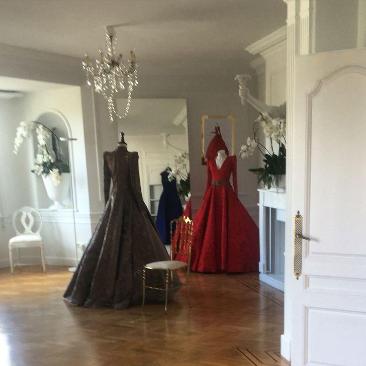 Gala dresses for MALNE show