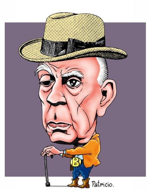 Jorge Luis Borges murió un 14 de junio de 1986    Publicó poemas, cuentos y ensayos.    Un 14 de junio como hoy pero en el año 1986 murió en Ginebra el famoso escritor argentino Jorge Luis Borges, quien había nacido el 24 de agosto de 1899.    En los últimos años de su vida, Borges, quien sufría ceguera, fue acompañado por María Kodama, quien actualmente da la vuelta al mundo compartiendo los recuerdos de la vida y obra de este magníficio representante de la literatura lationamericana.