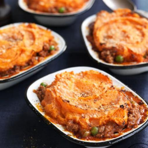 Shepherd's pie with sweet potato