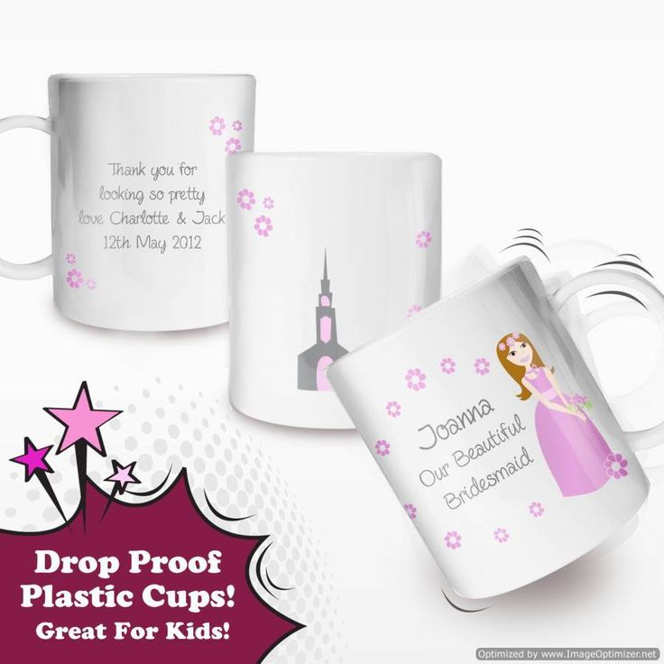 Personal Touch Gifts - Fabulous Little Bridesmaid Plastic Cup, £9.99 (http://personaltouchgifts.co.uk/fabulous-little-bridesmaid-plastic-cup/)
