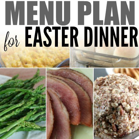 Here are some delicious  Recipes for Easter Dinner. We have a free menu plan to help you serve the best Recipes for Easter Dinner.