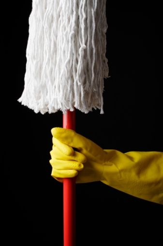 Cotton is a common material for mop heads. All mop heads get dirty; this dirt can build up over time and, therefore, mop heads must be cleaned occasionally to function best as a...