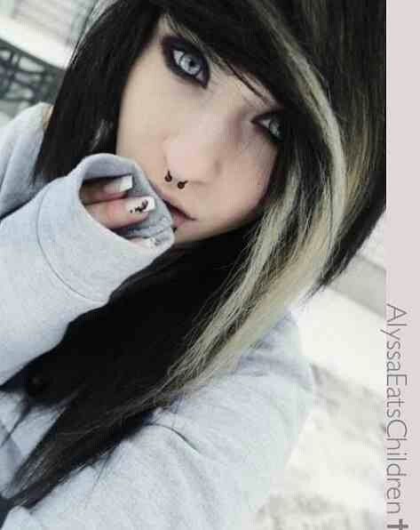 Emo hair love it