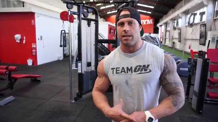 Joe Pitt Shoulders - World Gym Brisbane