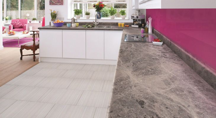 The perfect splash-back and worktop to match your design #design #interiordesign #kitchen #kitchendesign