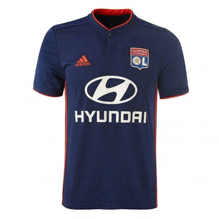 Olympique Lyonnais Sweat Entrainement Junior Bleu Adidas OL