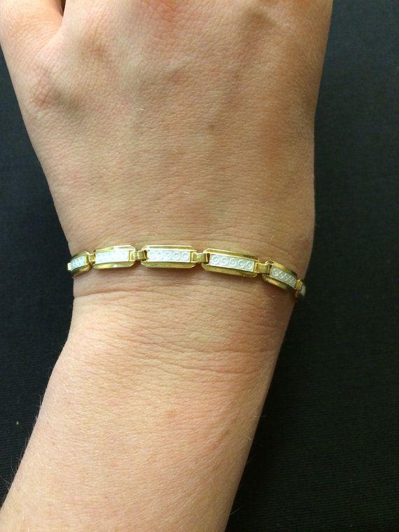 Vintage Enamel Bracelet by VintageAndNewNorway on Etsy