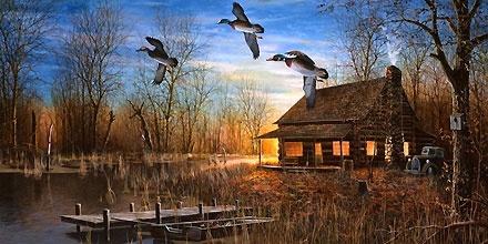Beautiful Fall Scenes Wallpaper Jim Hansel Prints Wood Cabins Art Home Decor Wall Art