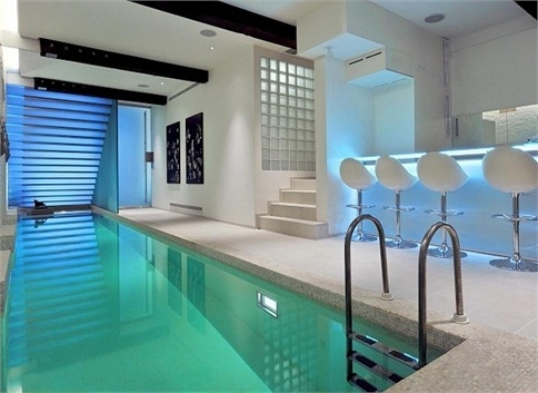 17 best images about basement on pinterest terraced - Houses with swimming pools in london ...