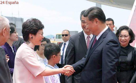 Xi Jinping garantiza un «futuro de largo plazo» para la autonomía de Hong Kong