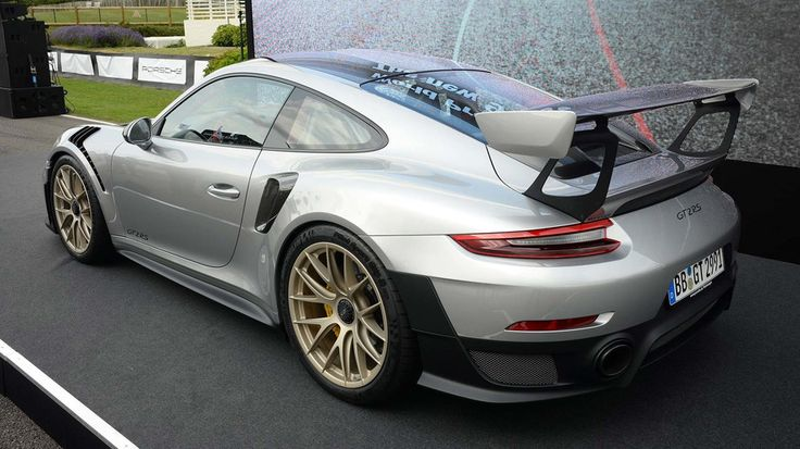 2018 Porsche 911 GT2 RS at 2017 Goodwood Festival of Speed
