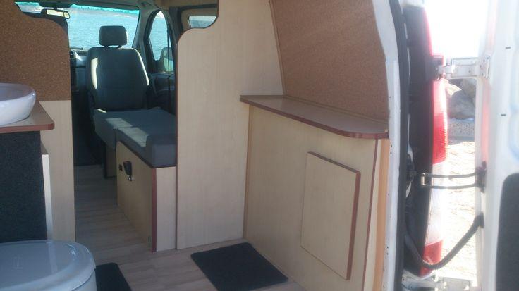 Producing, converting and repairing campers, caravans and RV. Mercedes Vito 2006 Camper Van Conversions RV, VW Transporter