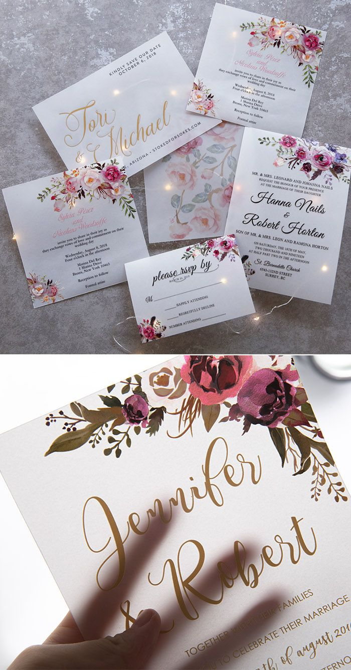 The Hottest 10 Wedding Invitations Trends For 2020 With Images