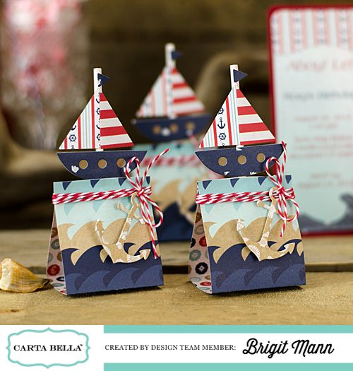 "Brigit's Scraps ""Where Scraps Become Treasures"": Carta Bella Ahoy There Nautical Party Theme!"