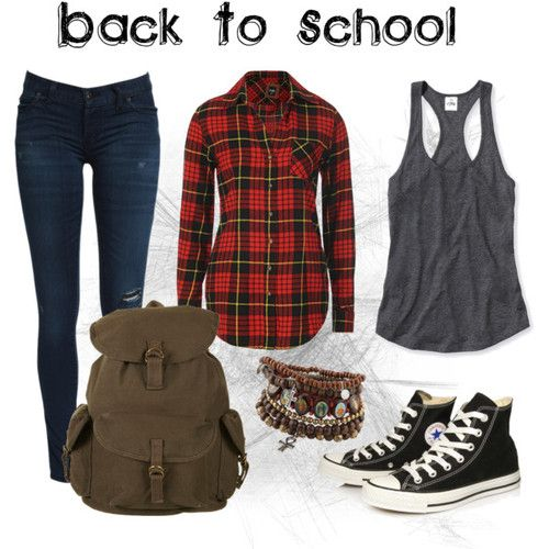 Back to school outfit ❤️