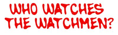 Who Watches the Watchmen Red