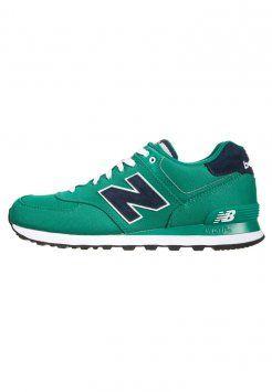 New Balance - ML574 - Sneakers - vert/bleu foncé
