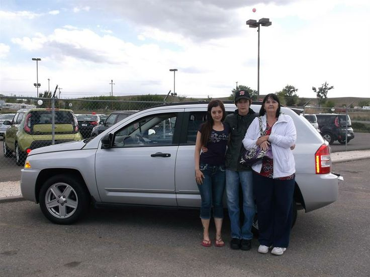 JUDY AND JAMIE's new 2009 JEEP COMPASS! Congratulations and best wishes from Grand West Kia and Sheila Knight.