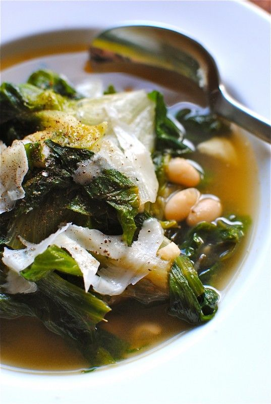 White Bean and Escarole Soup--never had escarole, so maybe it's time to start?