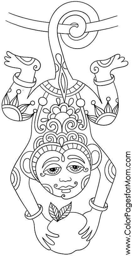 Teen animal coloring pages ~ 1187 best Coloring - Young/Teen images on Pinterest ...
