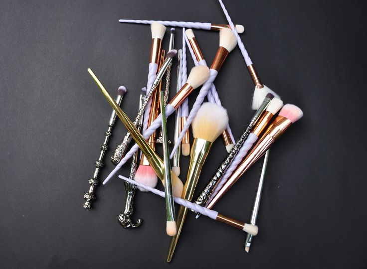 BRUSHES FOR THE BUDGET FRIENDLY WITCH