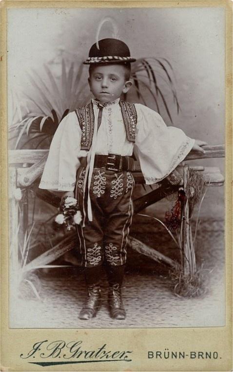 A Moravian or Slovak boy.