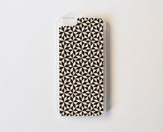 iPhone 5c Case  Geometric Wood Pattern iPhone 5c by PelhamCases, $21.99