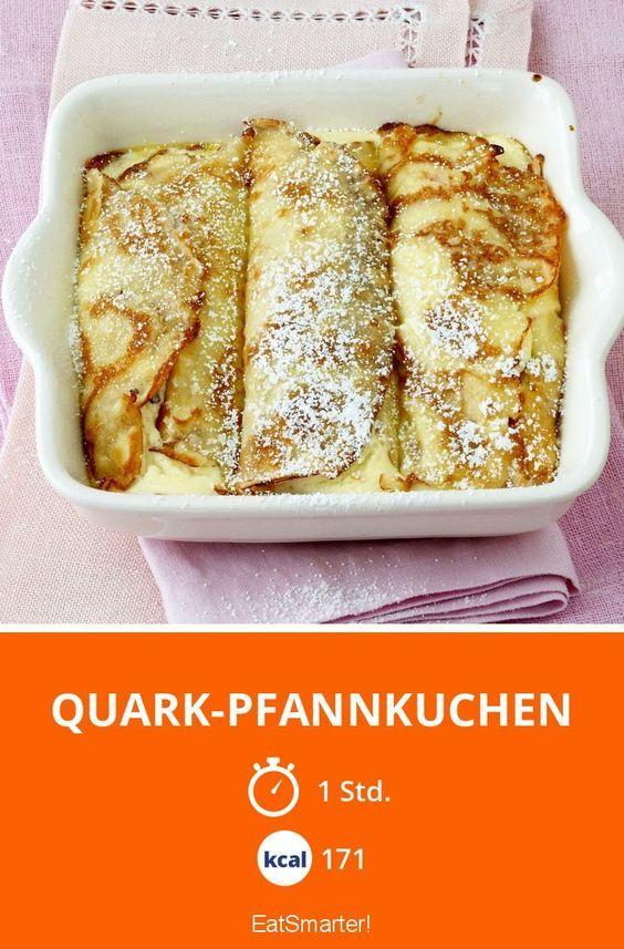 Quark-Pfannkuchen - smarter - Kalorien: 171 Kcal - Zeit: 1 Std.   eatsmarter.de