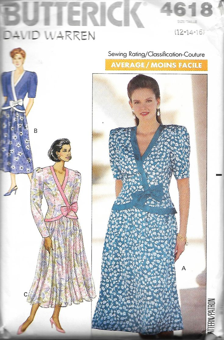 46 best Patterns I own images on Pinterest | Vintage sewing patterns ...
