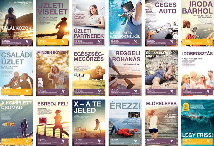 Tisztelt Forever Üzleti Partnereink!  Új motivációs plakátok érkeztek raktárainkba, 18 különböző grafikával. Szerezzétek be őket minél hamarabb!  Hajrá Forever!