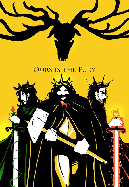 from Michael J. DiMotta's Game of Thrones poster series : Baratheon
