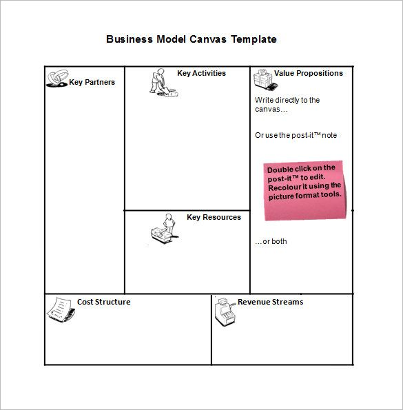 10 Business Model Templates Word Excel Pdf