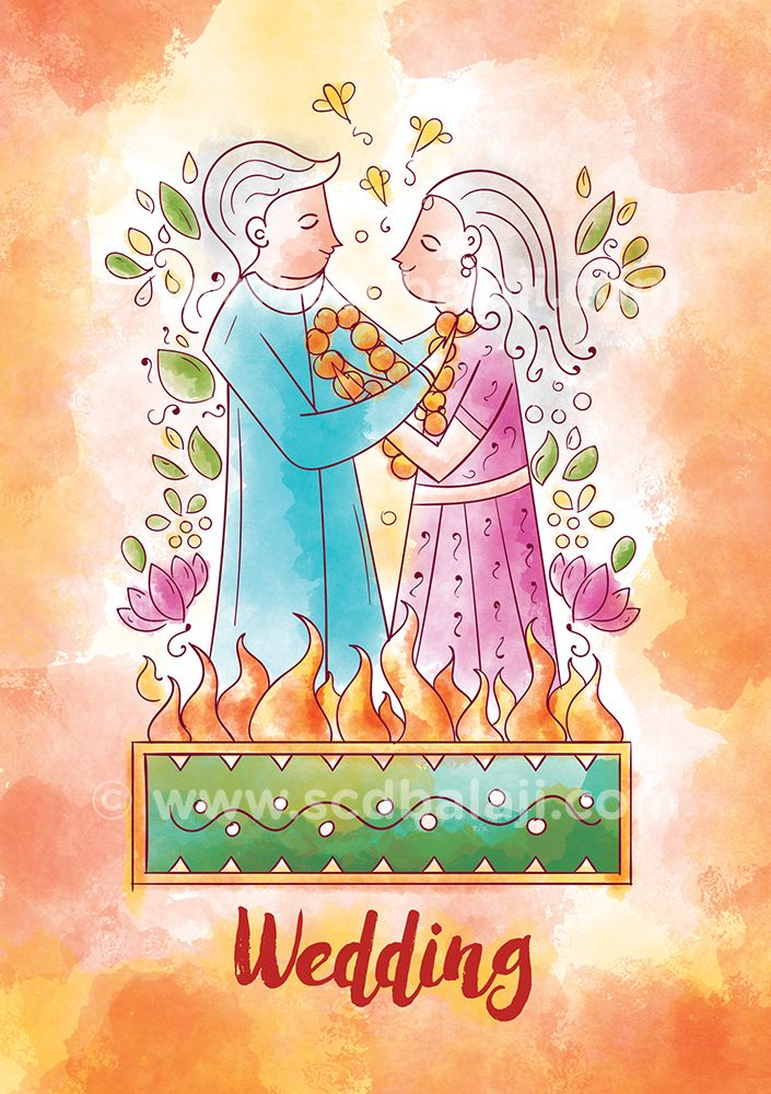 12 best Watercolour Indian Wedding Invitation Suite images on ...
