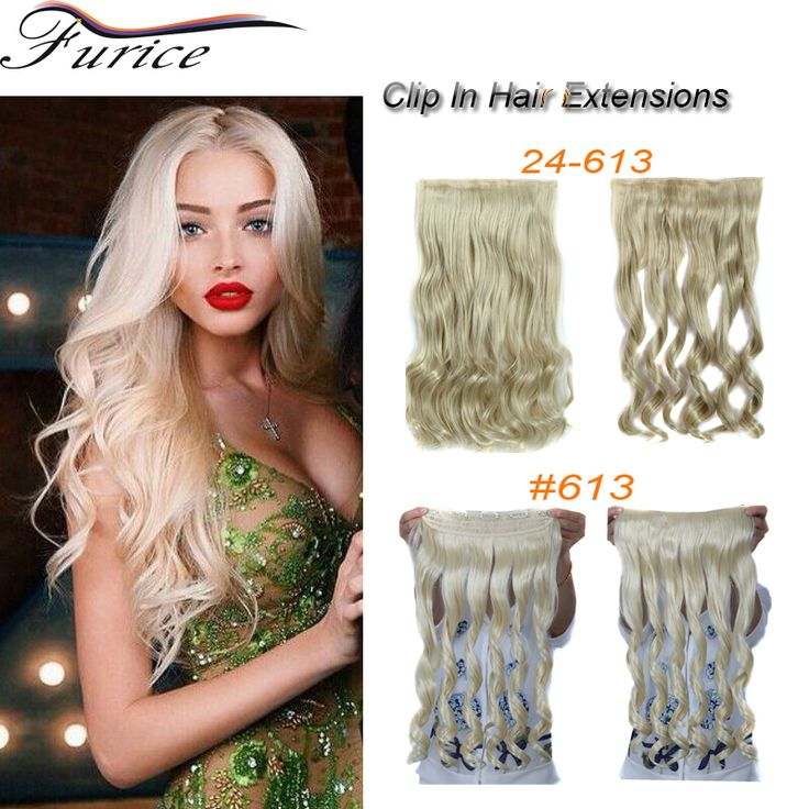 Aliexpress Buy New Fashion 5 Clips In Hair Extensions Bulk Wavy Curly Natural