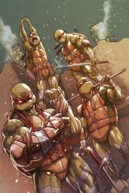 Teenage Mutant Ninja Turtles by Eddie Nunez