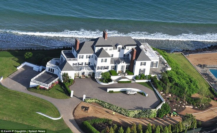 Luxurious: Taylor Swift's beachfront home in Westerly, Rhode Island, which she bought for an estimated $17million two years ago