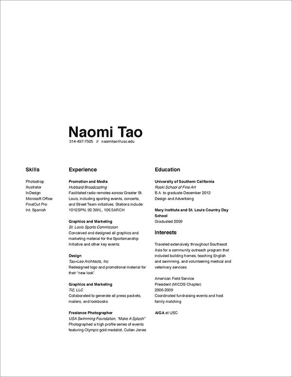 16 Best Clean Resumes Images By Lisa Li Mft On Pinterest Resume