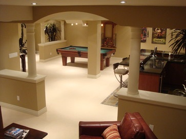 14 best half wall w pillar images on pinterest half for Pillar in living room