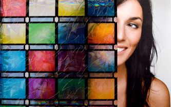 SX-SC573 Stained Glass Atlantis Static Cling