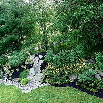 110 best berm landscaping images on pinterest for Landscape berm design