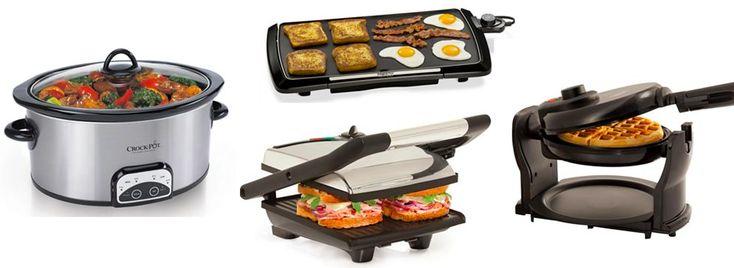 Kohl's.com: *HOT* Presto Griddle, Bella Panini Maker, Waffle Maker & Crock-Pot Only $4.99 (After Rebate) – Hip2Save