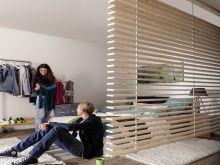Ratgeber Raumteiler: Raumteiler aus gehobelten Dachlatten