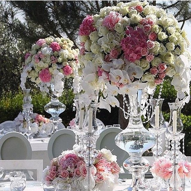 320 Best Over The Top Tall Wedding Centerpieces Images