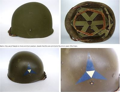 How to date WWII and Later US M1 Helmets | eBay